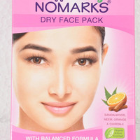 Face pack  powder by ,Bajaj Nomarks Facepack For All Skin Type ,nourishment, oil control and tightening to make the skin fresh and glowing.