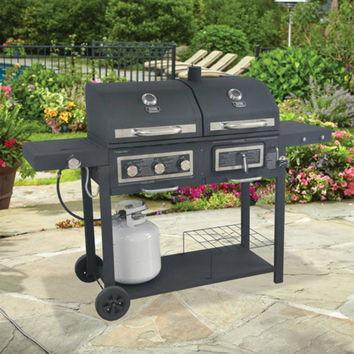 Charcoal Gas Combo Grill-Gas Charcoal Combo-Propane Charcoal Grill