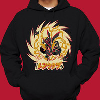 SHINY RAYQUAZA Pokemon Hoodie Air Legendary Pokemon Sweatshirt
