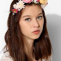 Flower Crown Hair Comb- Rose One
