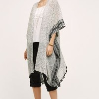 Cecile Kimono by Anthropologie in Black Motif Size: One Size Tops
