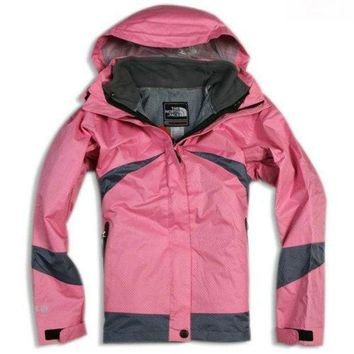 ONETOW The North Face Womens 2 in 1 Outdoor Jackets