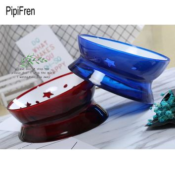 PipiFren Small Dogs Bowl Feeder Tilt For Cats Food Bowl Pet Feeder Water Snacks Dish French Bulldog gamelle chat cuccia cane