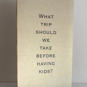 Metallic Wedding Table Books - Large Conversation Starters - Pearlescent Question Boo