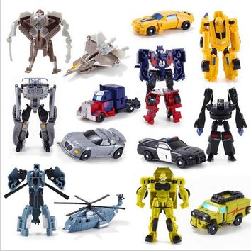 Transformation Kids Classic Robot Cars Toys For Children Action & Toy Figures free shipping