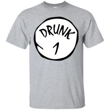 Drunk 1 - Happy St Patrick's day drink beer and drunk - T-shirt, Ladies tshirt