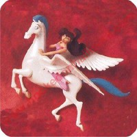 1997 Megara and Pegasus Hallmark Ornament