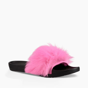 UGG Australia Women's Royale Slide Slipper | Neon Pink