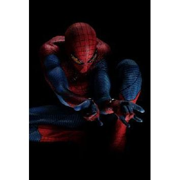 Spiderman poster Metal Sign Wall Art 8in x 12in