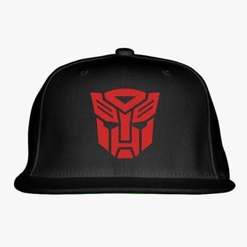 TF - Autobots Embroidered Snapback Hat