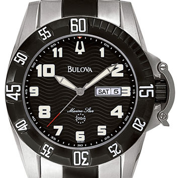 Bulova Men's Marine Star Watch 98C001