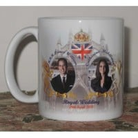Prince William and Catherine (Kate) Middleton WEDDING at Westminster Abbey Commemorative Coffee Mug Cup #5