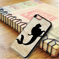 Ariel Mermaid Siluet In Paper Old iPhone 6 | iPhone 6S Case