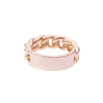 Mister  ID Ring - Rose Gold