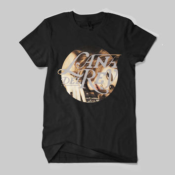 Lana Del Rey Elizabeth Woolridge Grant American singer Face Logo Shirt Black and White Shirt Men or Women Shirt Unisex Size