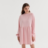 LO Basics Pink Oversized Sweater Dress - View all - New In - Womens