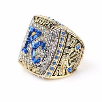 """SPORTS RING * 2015 KANSAS CITY """"ROYALS"""" WORLD SERIES * CHAMPS/ ..fast delivery"""