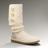 UGG® Lattice Cardy for Women | Sweater Boots at UGGAustralia.com