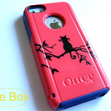 OTTERBOX iphone 5c case, case cover iphone 5c otterbox ,iphone 5c otterbox case,otterbox iPhone 5c, otterbox, cat otterbox case