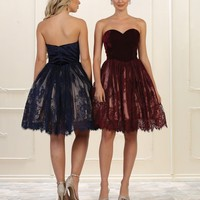 Prom Short Homecoming Dress Formal Gown