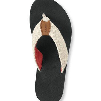 Women's Maine Isle Flip-Flops, Woven: Sandals and Water Shoes | Free Shipping at L.L.Bean