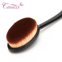 COSSCCI Face Oval Makeup Brush Foundation BB Cream Flawless Powder Puff Blusher Cosmetic Toothbrush Shaped Cleaning Beauty BF11