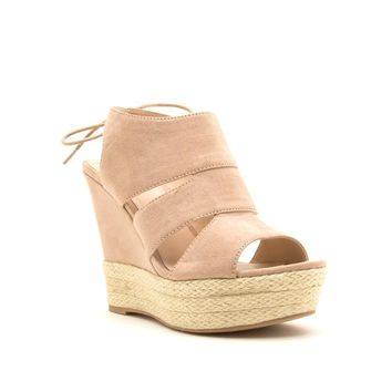 Women's Caged Wedge Sandal