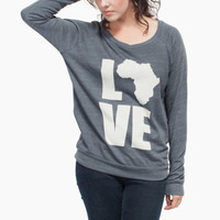 Shop the LOVE Africa Long Sleeve | Krochet Kids intl.