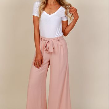 Hustle And Flow Beach Pants Mauve