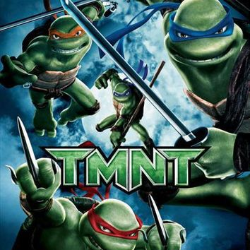 TMNT (German) 11x17 Movie Poster (2007)