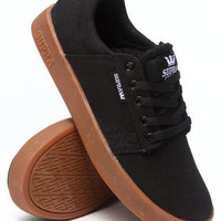 Westway Black Canvas/Gum Sole Sneakers (Kids)