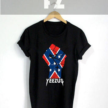 Kanye West Shirt Yeezus Tour Shirts T-shirt Tee Shirt Black Color Unisex Size - NK101