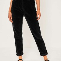 BDG Mom Black Corduroy Jeans | Urban Outfitters