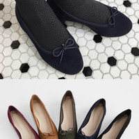 Ribbon Detailed Low Heel Shoes