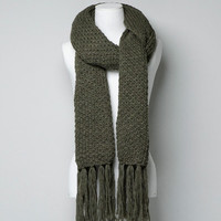 CHUNKY KNIT SCARF - Scarves - Accessories - Woman - ZARA United States