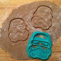 Star Wars - Storm Trooper cookie cutter