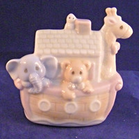 Precious Moments Noahs Ark Mini Nightlight Enesco 1993 Baby Child