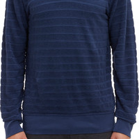 Burkman Bros. Flocked-Stripe Pullover Hoodie at BarneysWarehouse.com