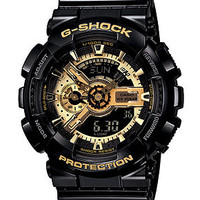 G-Shock Watch, Men's Analog Digital Black Resin Strap GA110GB-1A
