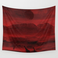 Last life Wall Tapestry by Berwies