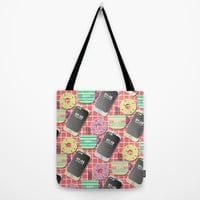 Breakfast Tote Bag by Susana Paz | Society6