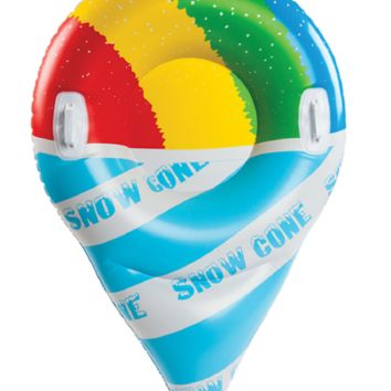 Giant Snow Cone Snow Tube