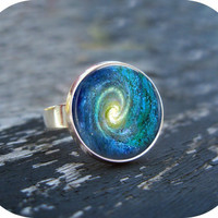 Space Swirl Ring