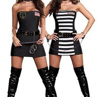 Crimes and Miss Demeanors Costume - Women Halloween Costume - Sexy Costumes for Woman - Oya Costumes