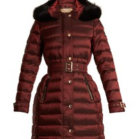 Ashmore fur-trimmed quilted down coat | Burberry | MATCHESFASHION.COM US