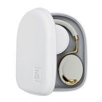 MONOQI | Wireless Headphones - Wht/Gold