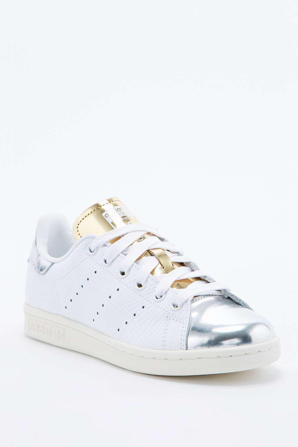 énorme réduction 16e01 89e7d Adidas Stan Smith Silver Toe Trainer - from Urban Outfitters