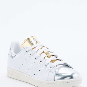 Adidas Stan Smith Silver Toe Trainer - from Urban Outfitters 93702a602