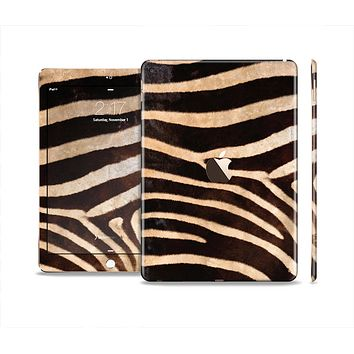 The Real Zebra Print Texture Skin Set for the Apple iPad Pro
