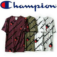 Champion limited counter synchronization full logo short sleeve t-shirt F-CR-CP-WM-YD